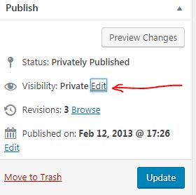 Publish Private